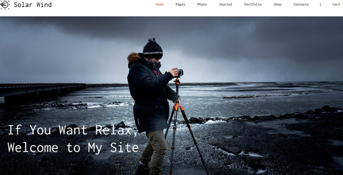 photography gallery wordpress theme