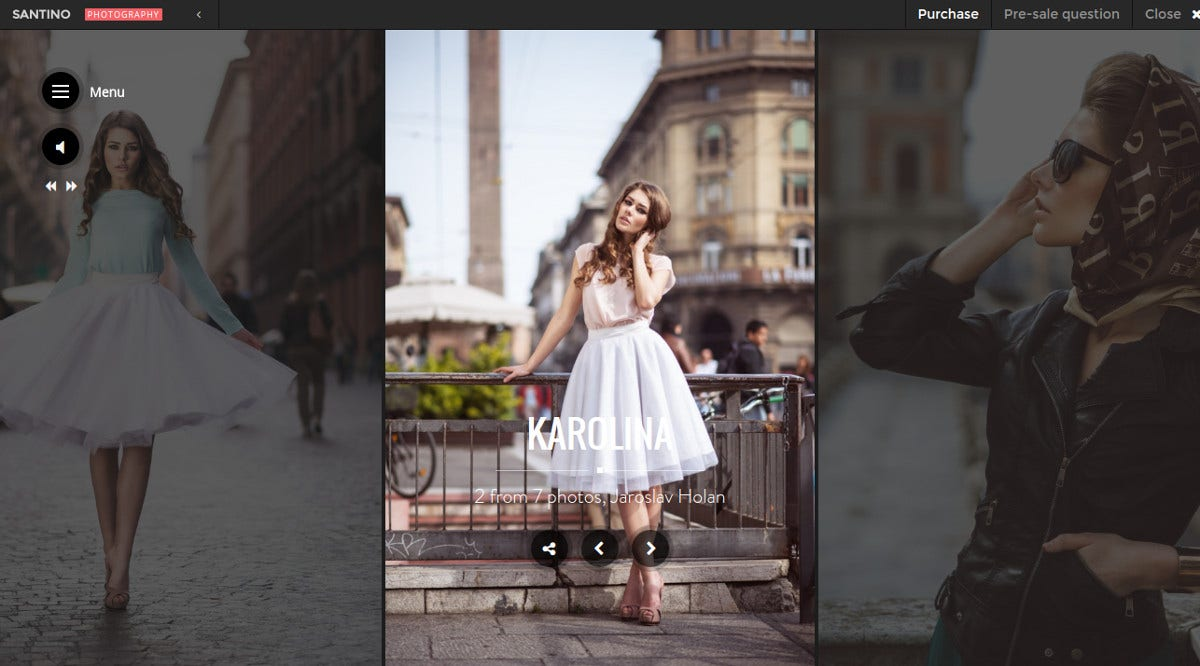 amazing photography wordpress theme