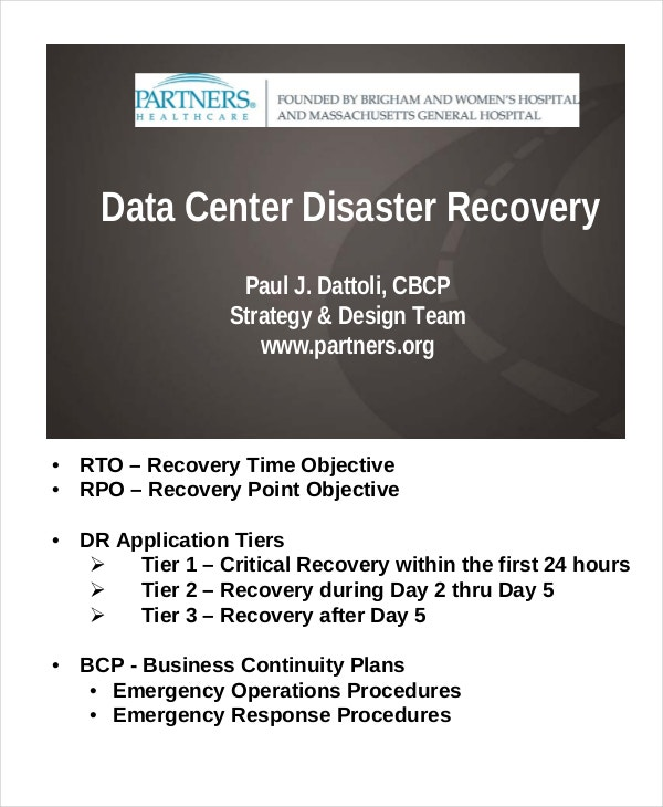 sample-data-center-disaster-recovery