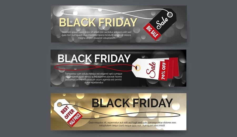 Shopping Black Friday Banner