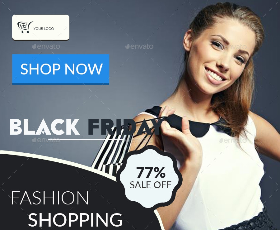 fashion black friday banner