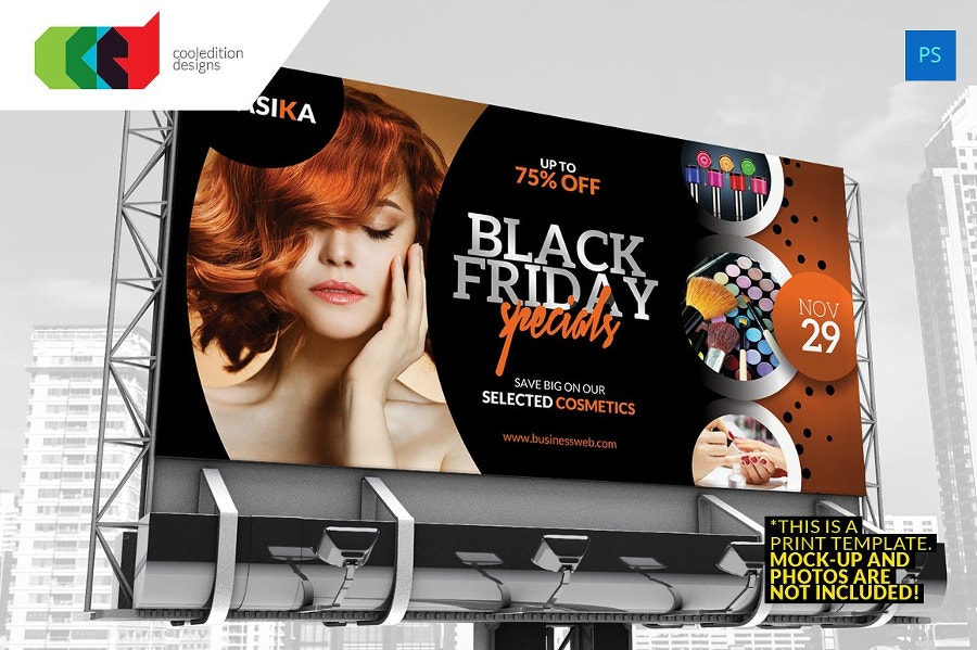 black friday billboard banner