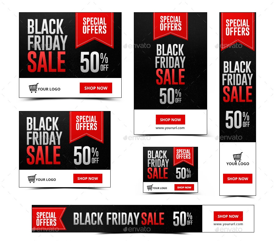 Animated Black Friday Banner