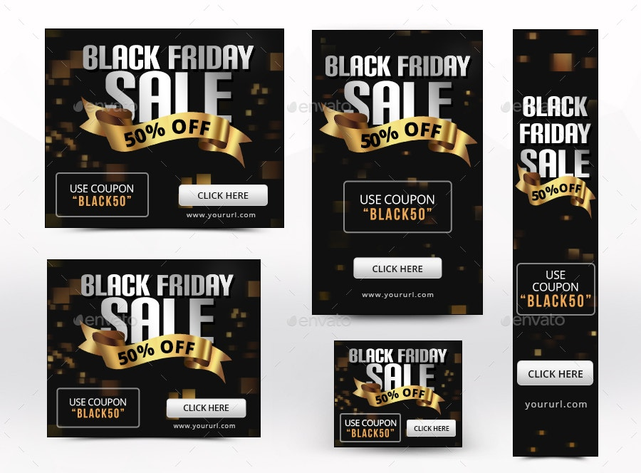 72 black friday banners