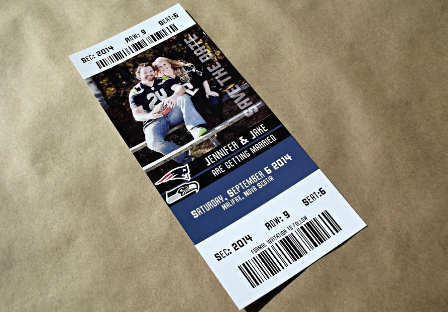 Sports Event Ticket Mockup