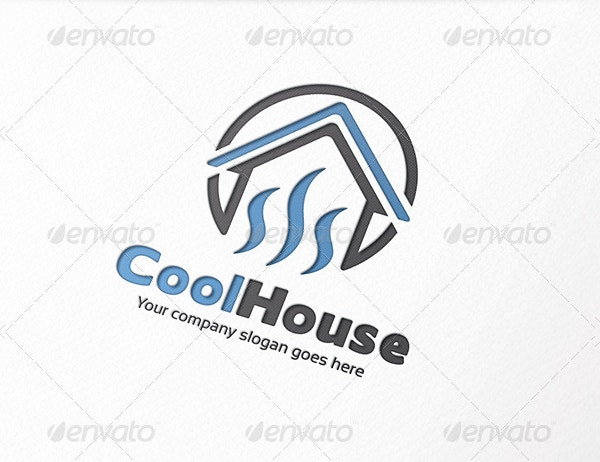 cool house logo
