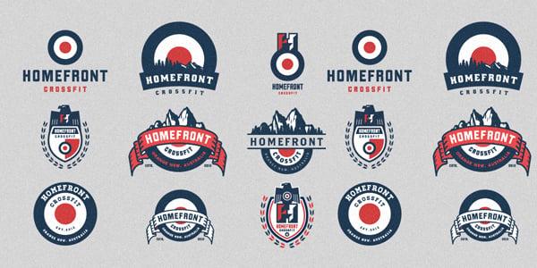 Homefront Crossfit Logo