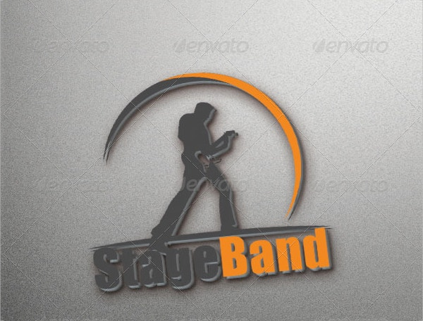Stage Band Logo Template