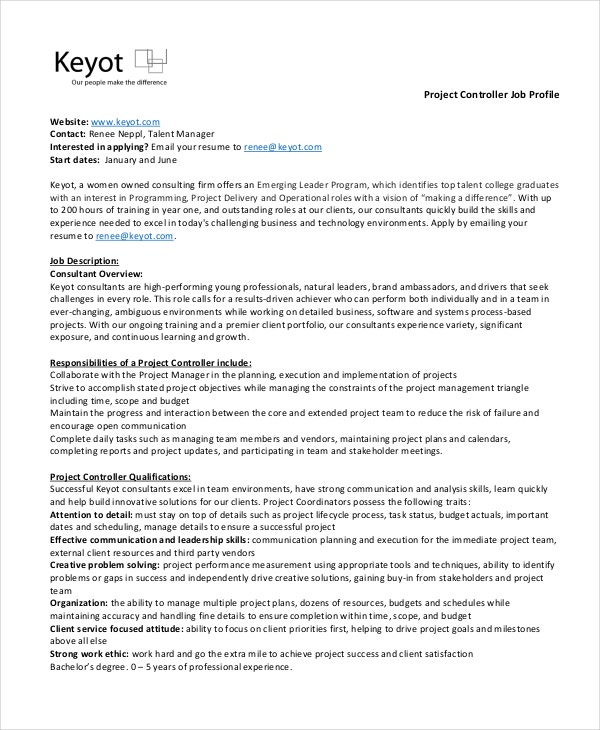 Controller Sample Assistant Controller Resume Project Controller. Flight ...