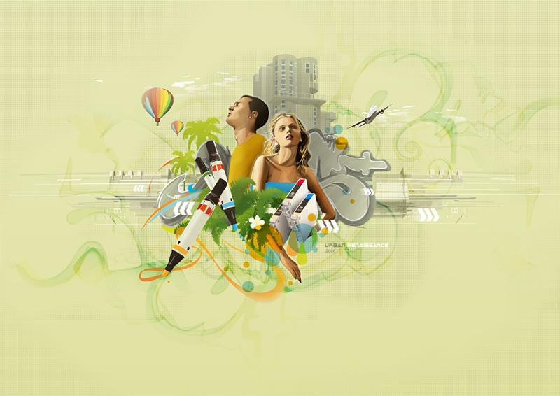 digital vector illustration