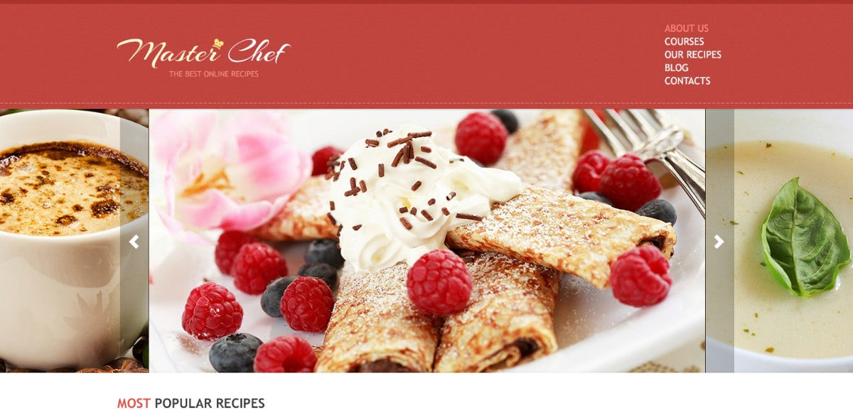 19 recipe blog themes templates free premium templates tasty recipe responsive blog joomla template 75 forumfinder Images
