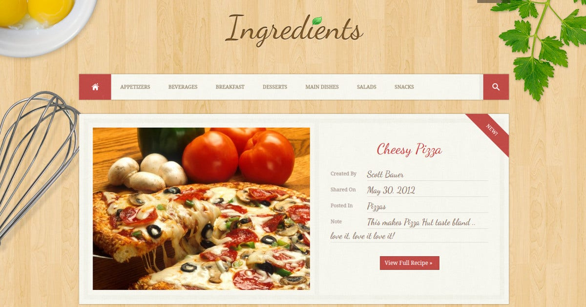 fresh-recipe-blog-wordpress-theme