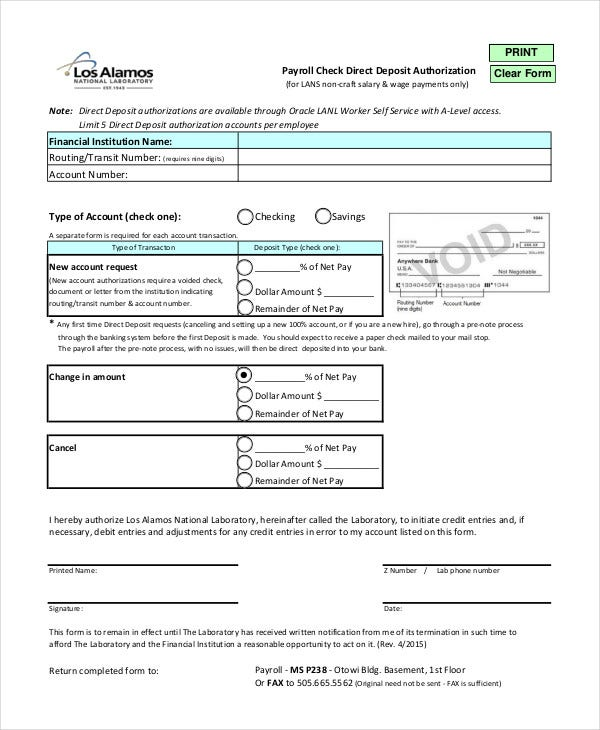 Blank Check Template - 7+ Free PDF Documents Download | Free ...