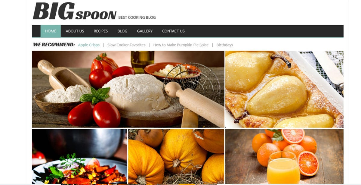 responsive cooking recipe blog wordpress theme1