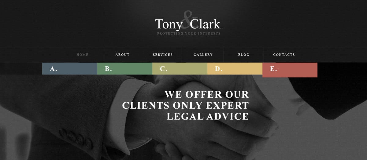 solid law firm wordpress theme