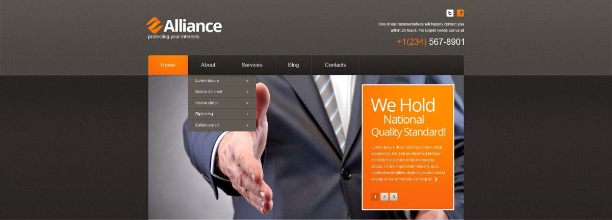 national law firm wordpress theme