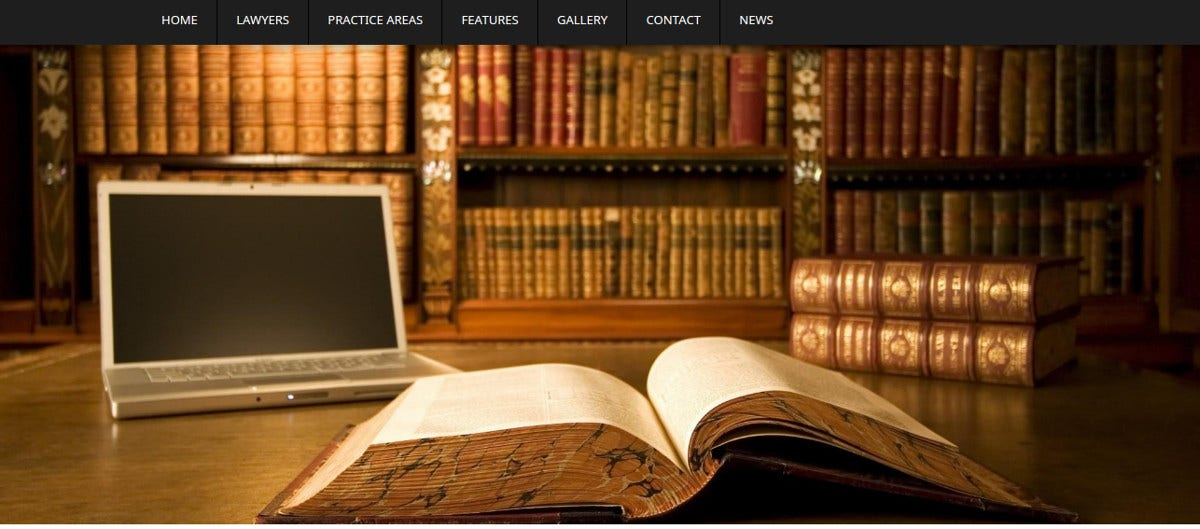 legal law firm wordpress theme