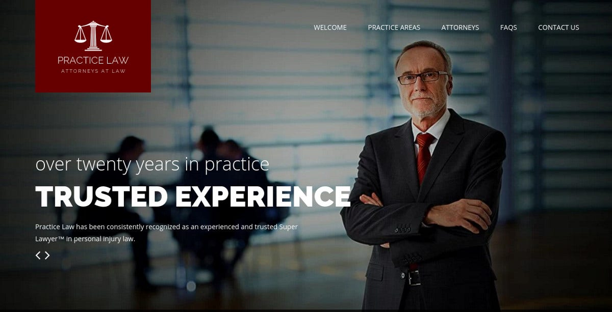 practice law firm wordpress theme