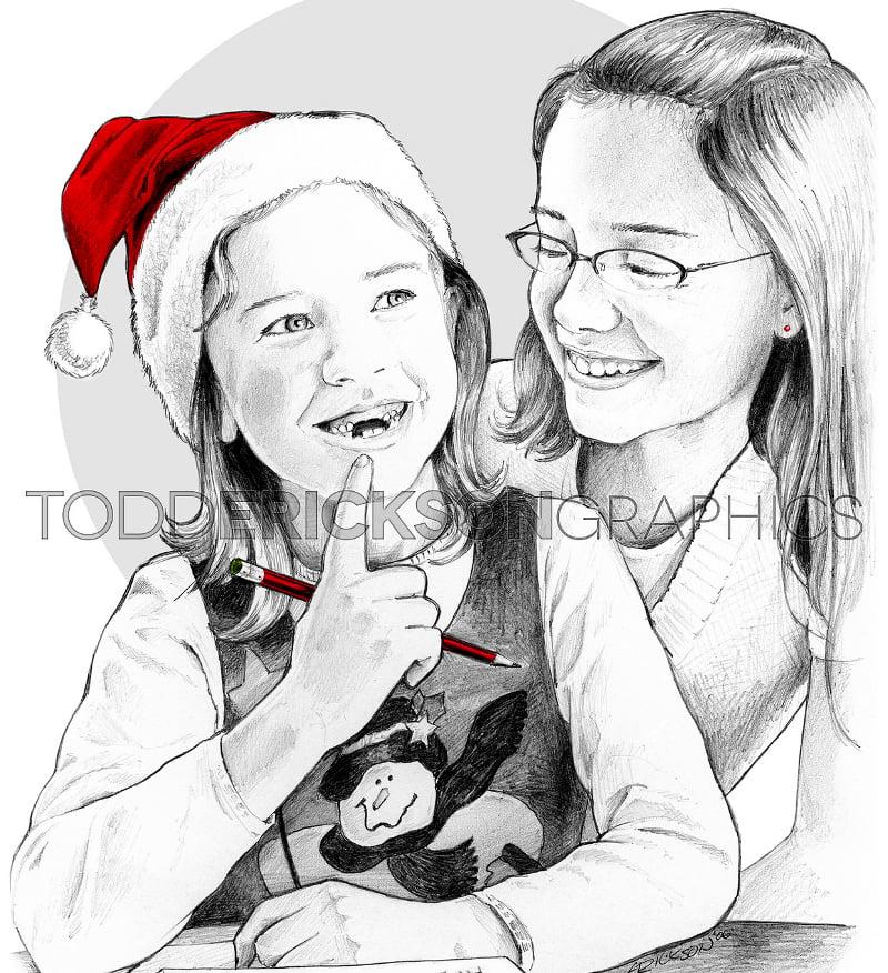 christmas baby as santa