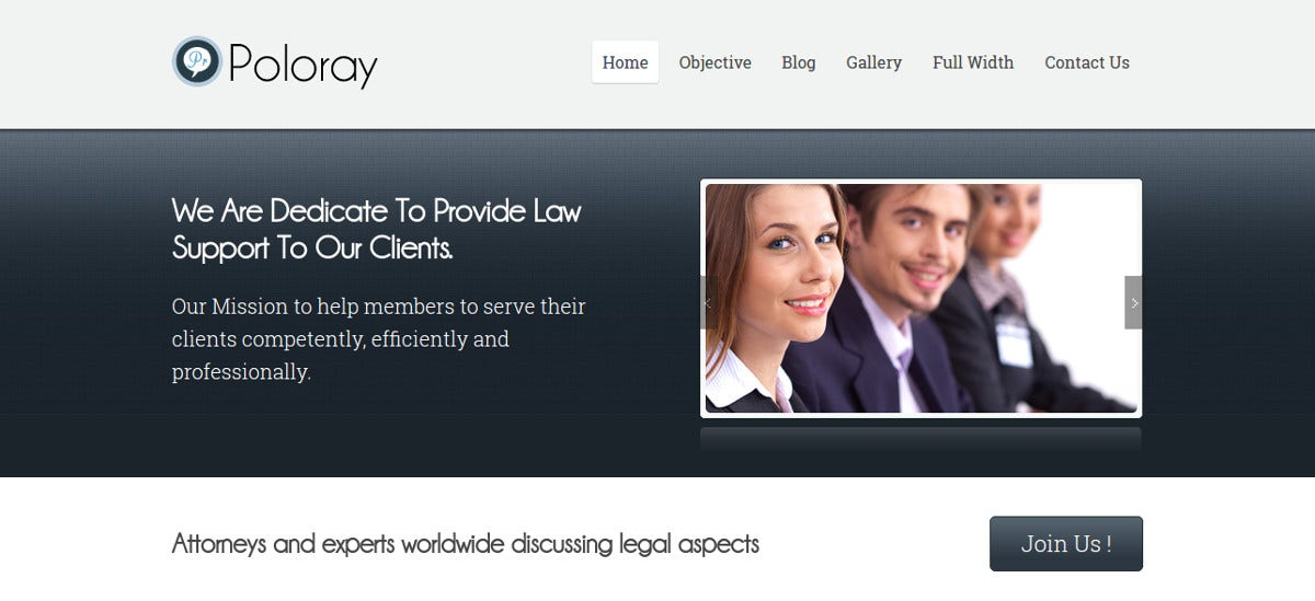 multipurpose law firm wordpress theme