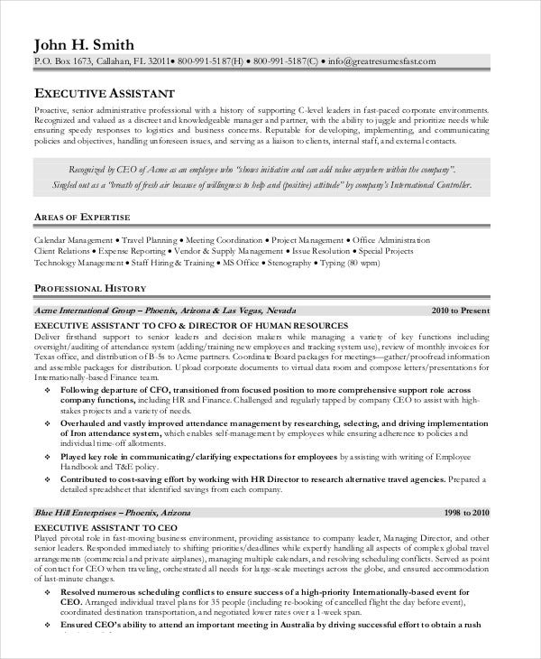 executive-assistant-resume-in-pdf
