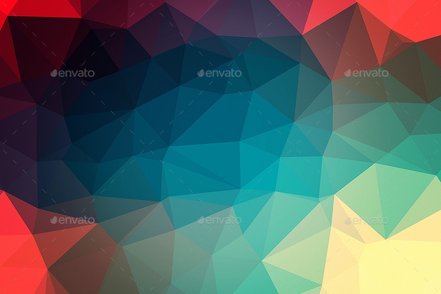 Stylish Polygonal Background