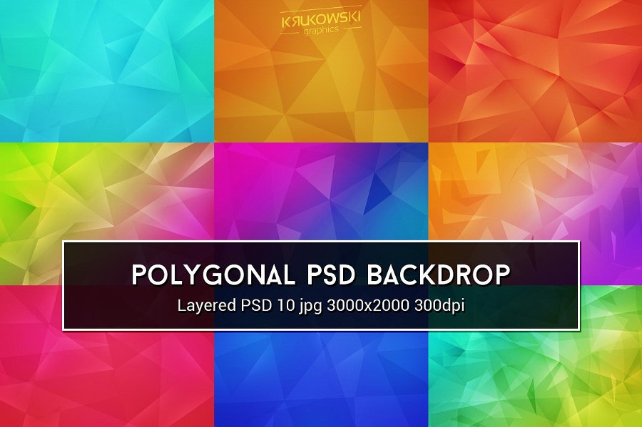 Polygonal PSD Background