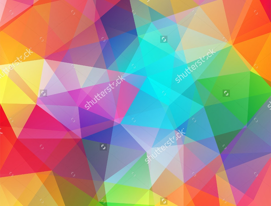 Poly Background Consisting of Triangles