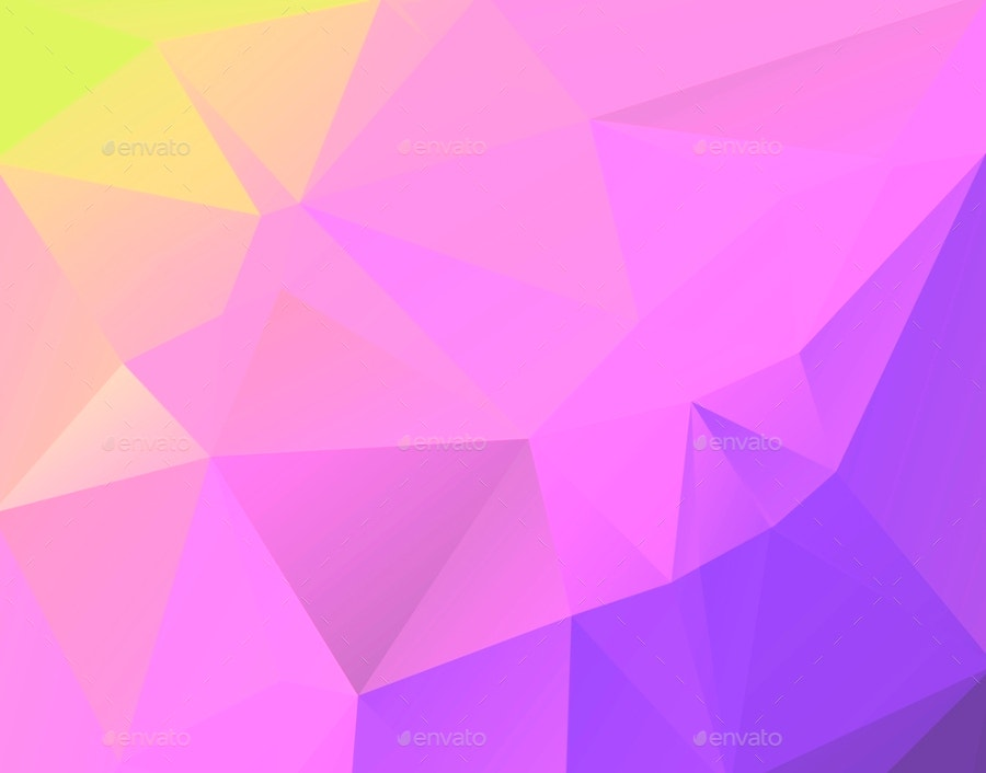 Clean Polygon Background
