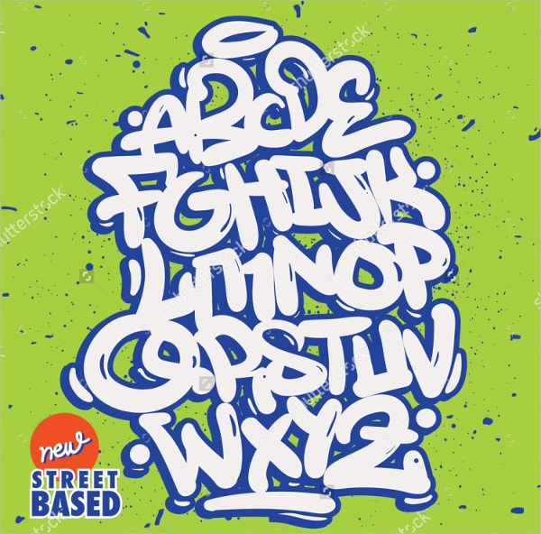 Bubble Handletterin Graffiti Font