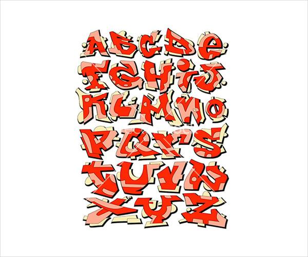21+ Graffiti Alphabet Styles - Free PSD, EPS Format Download