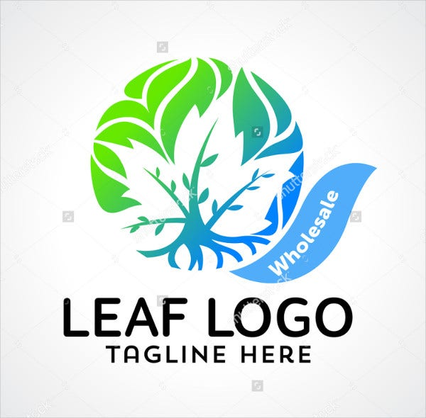 Abstract Landscaping Logo Template