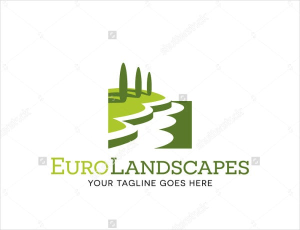 Landscape Logo for Lawn