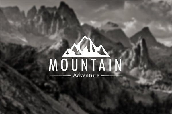 mountain shapes for logo