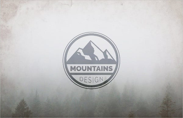 Outdoor Mountain Logo Design