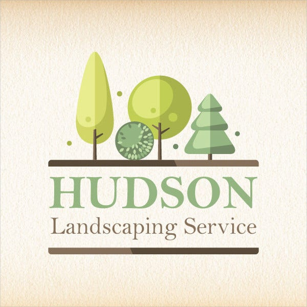 Tree Design Landscaping Logo
