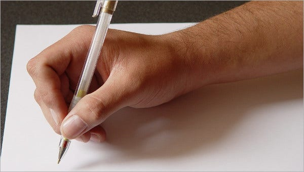 personal letter formats