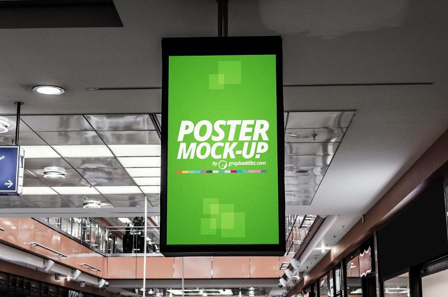 20 Indoor Advertising Mockups Free Premium Templates