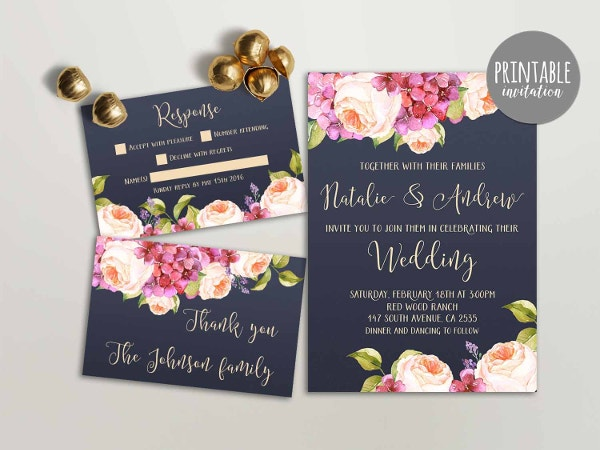 40 Wedding Invitation Template Free Psd Vector Ai Eps Format