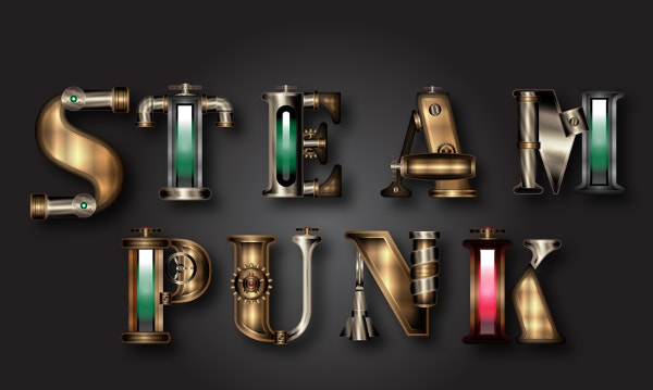 steampunk fonrt