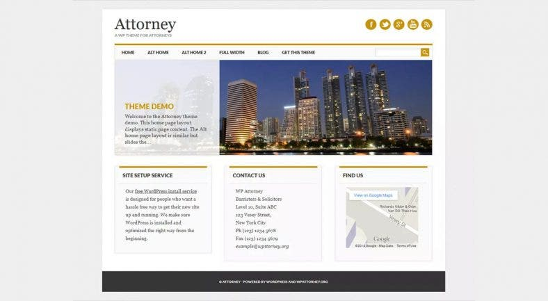 free-business-attorney-wordpress-theme