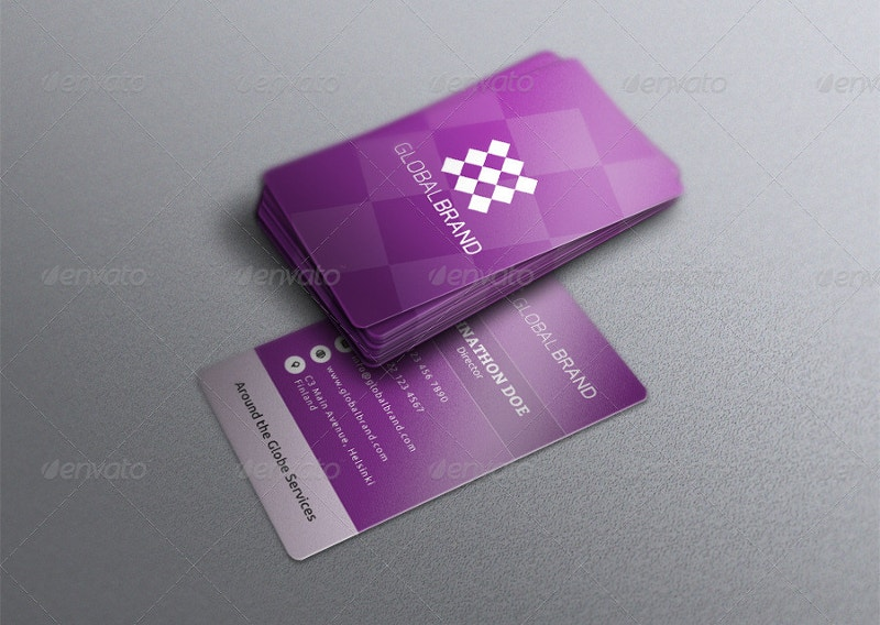 Metro Corporate Business Card