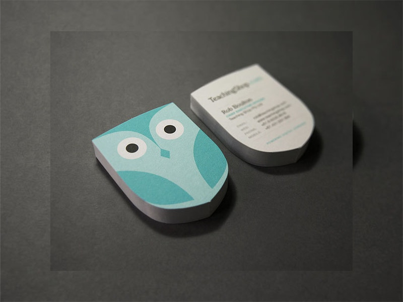 Labels Printing Die Cut Business Card