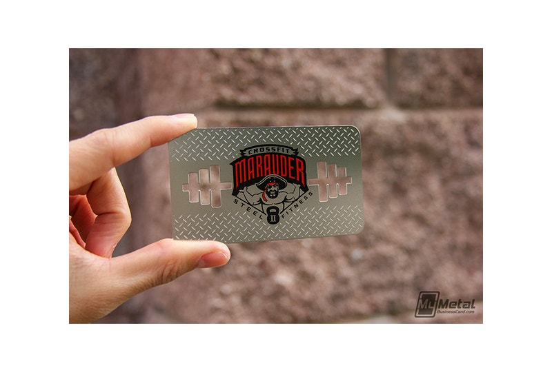 Branding Stainless Steel Business Cards