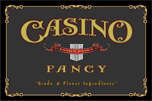 Casino Fancy Font