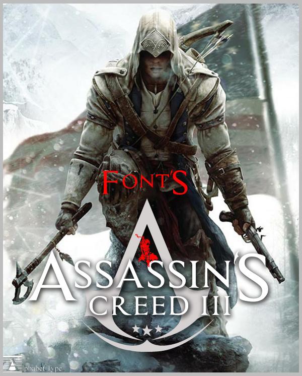 Fancy Assassin Alphabet Font