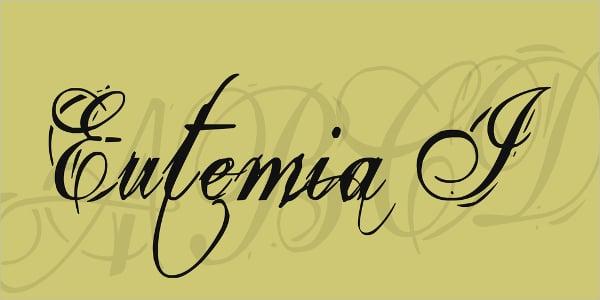 Fancy Eutemia I Font