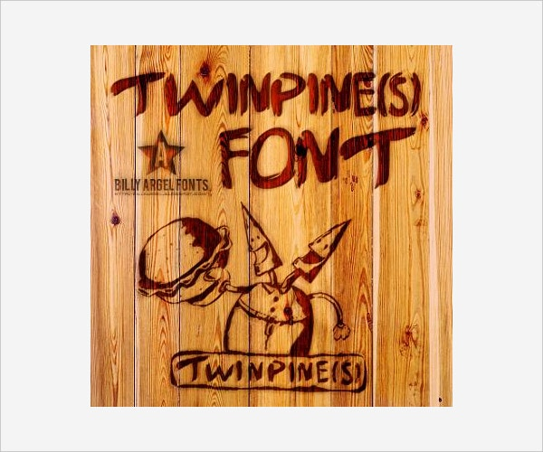 Twinpines Font