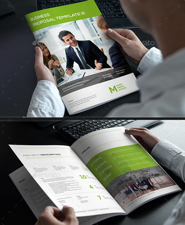 Graphical Business Proposal Template