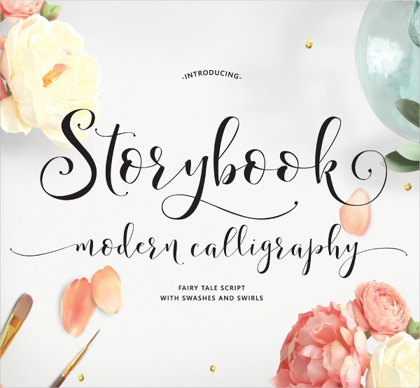 Hand-Lettered Calligraphy Script Font